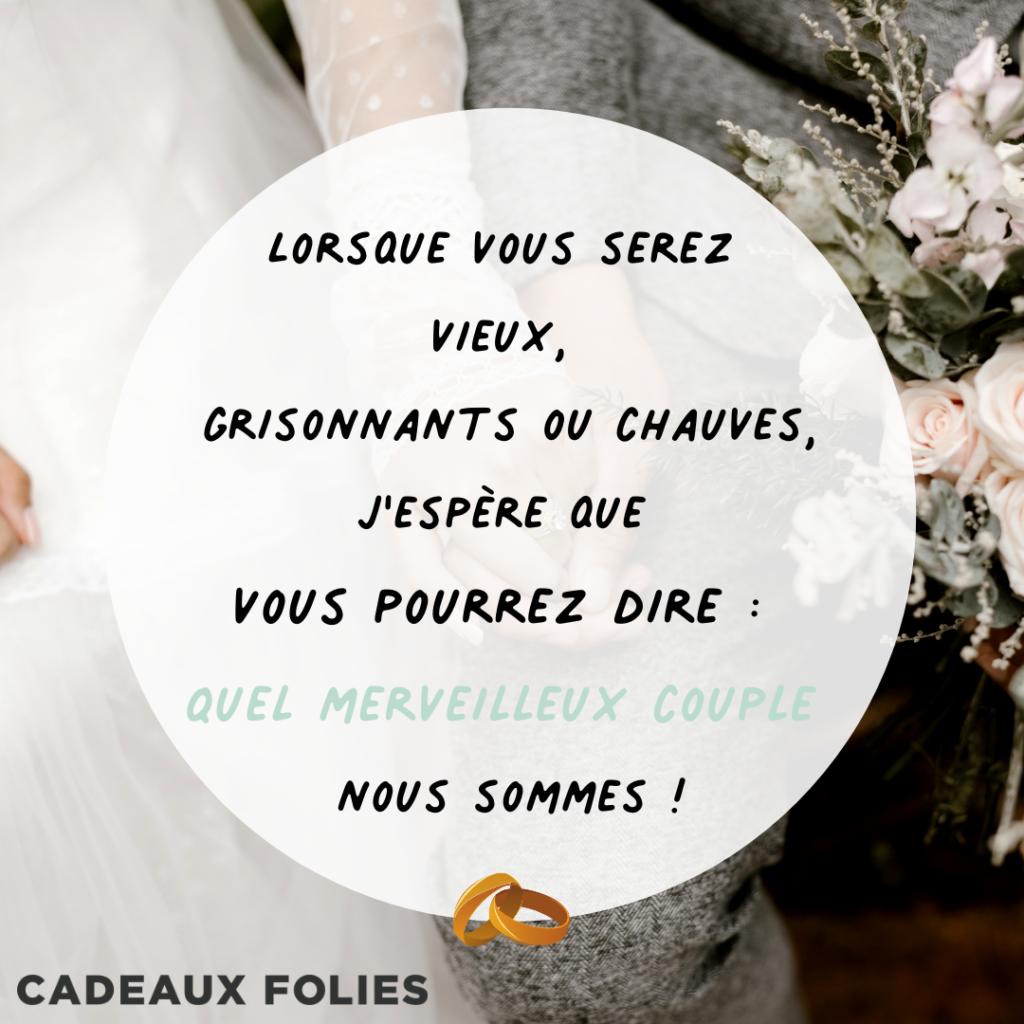 vœux de mariages cadeau mariage cadeaux folies 10