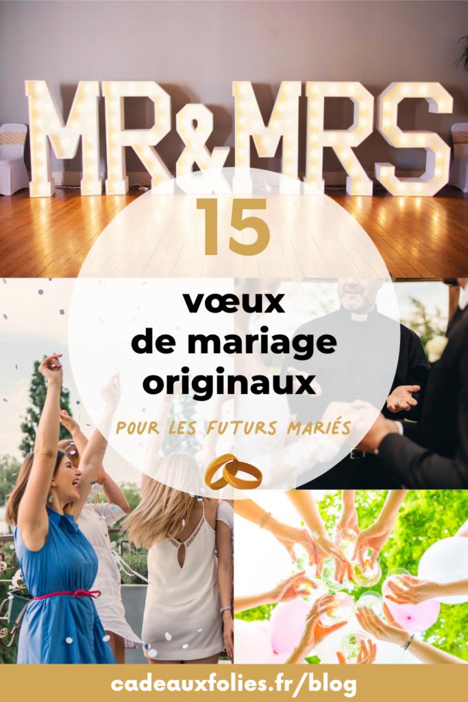 vœux de mariages cadeau mariage cadeaux folies 23