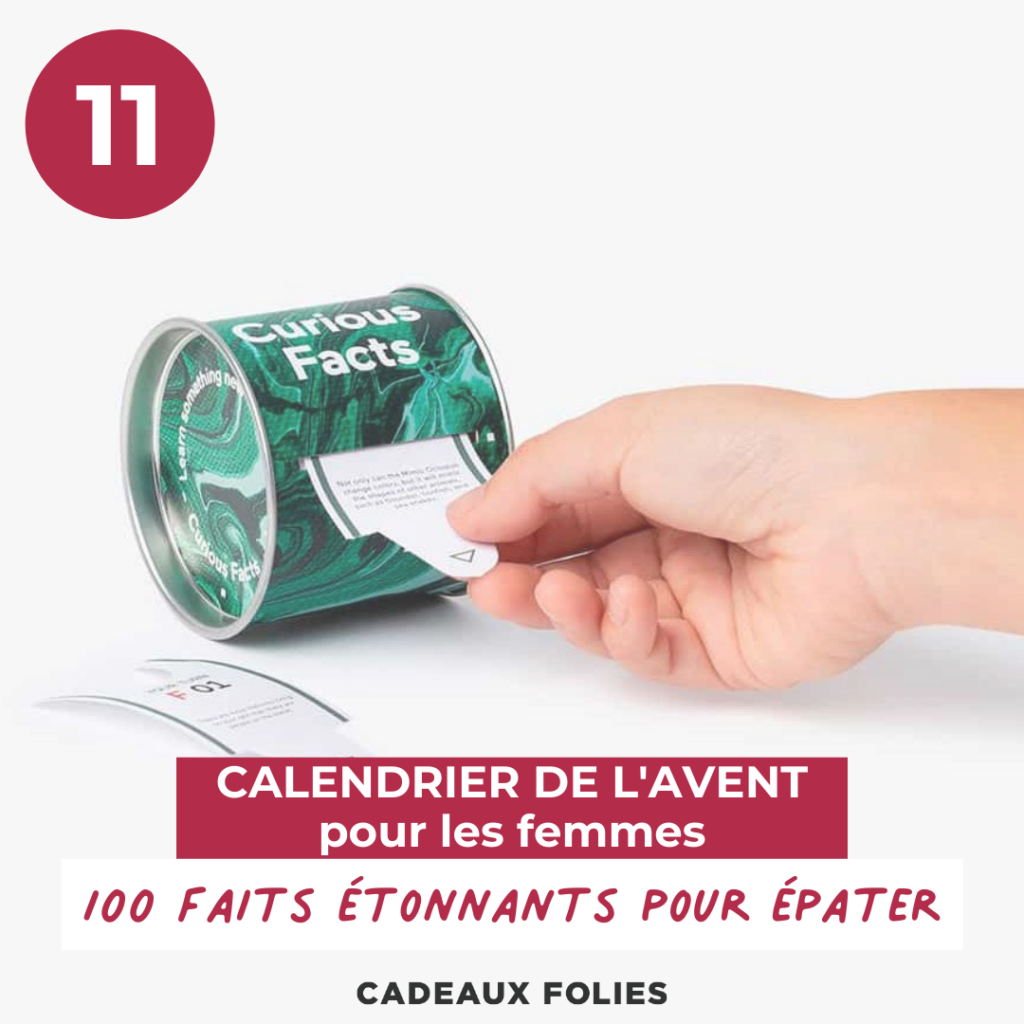 Distributeur 100 curious facts