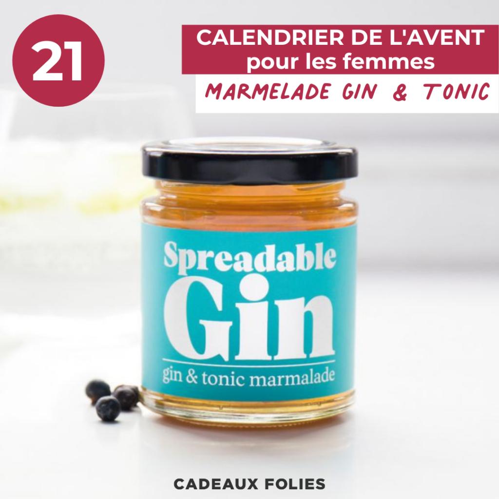 Marmelade au gin et tonic