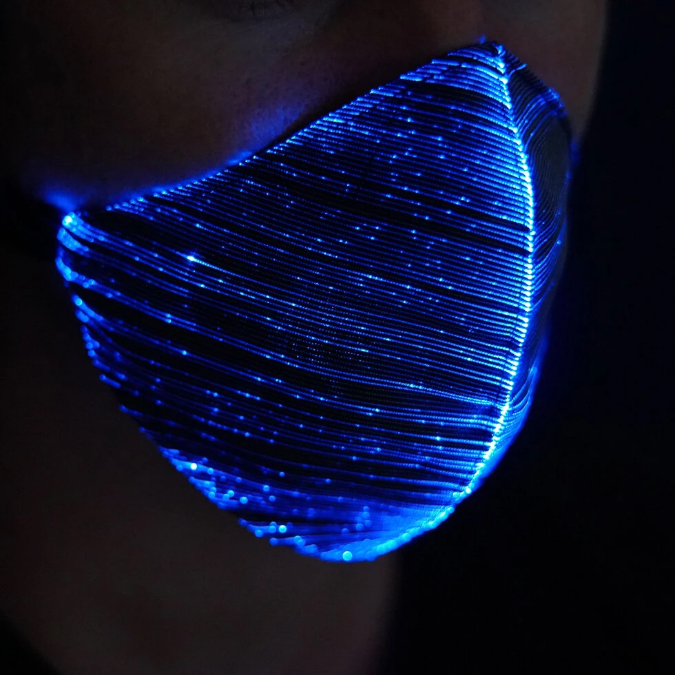 Masque de protection lumineux