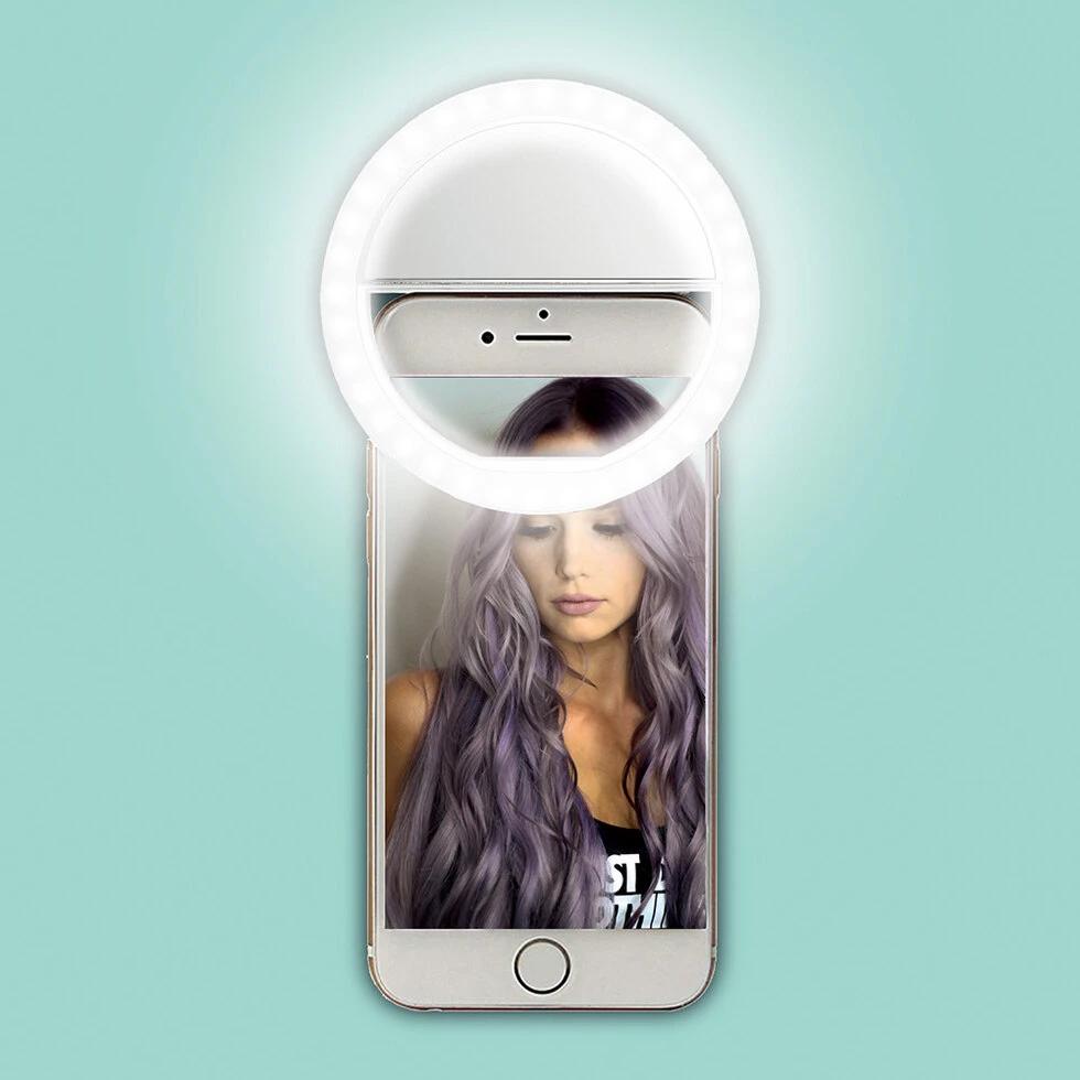 Lampe à selfie pour smartphone ou ordinateur portable
