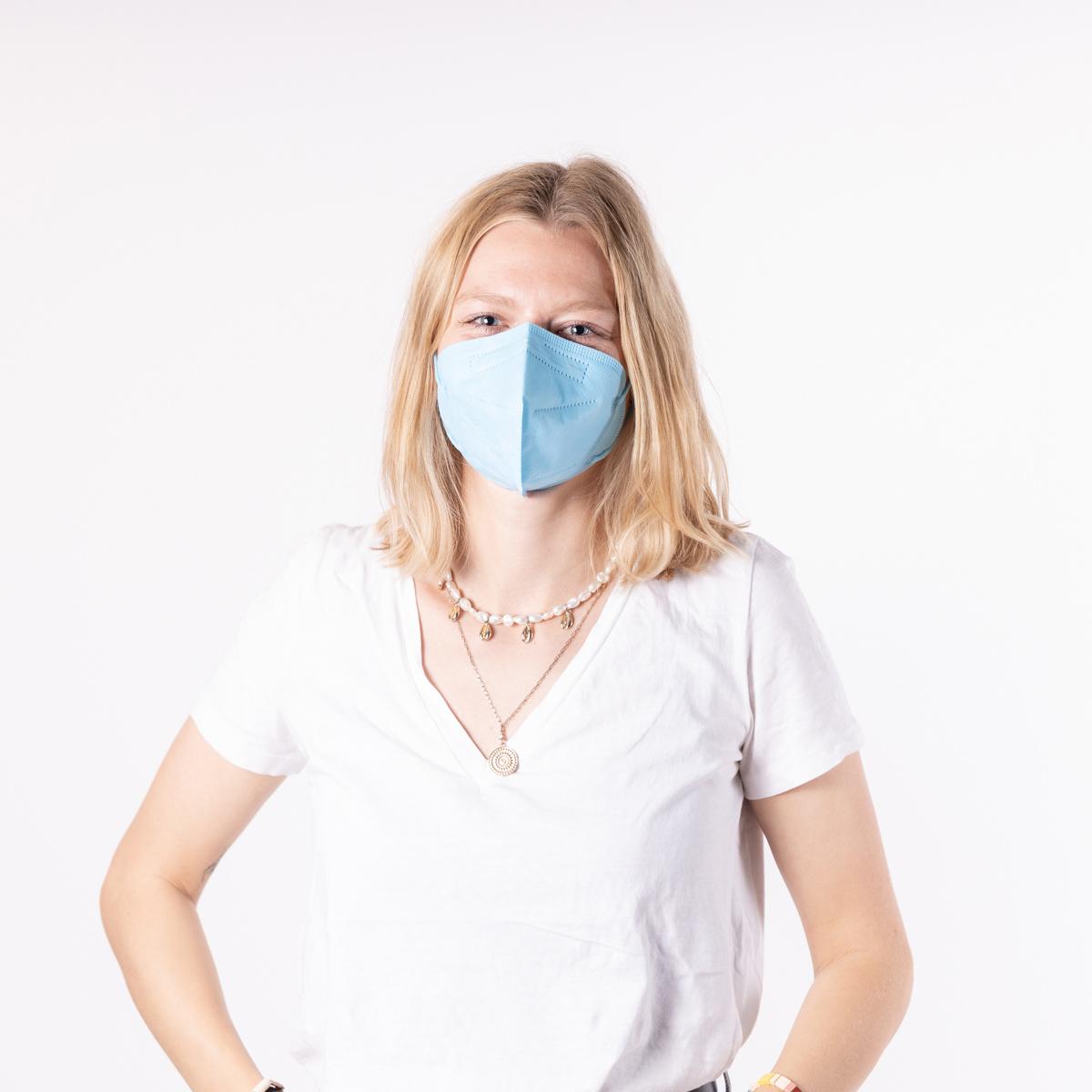 Lot de 10 masques FFP2
