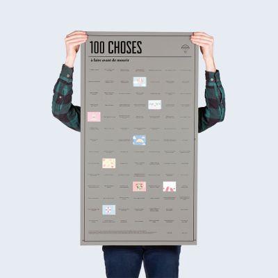 Poster 100 choses, que vous devez faire avant de mourir