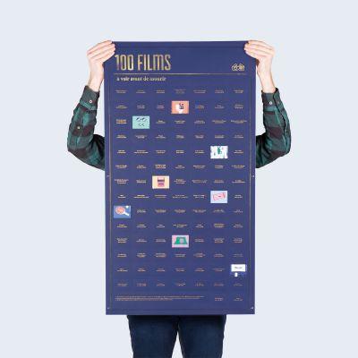 Poster 100 films, que vous devez voir avant de mourir
