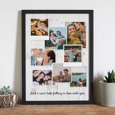 Poster Photo Personnalisable - Look Vintage