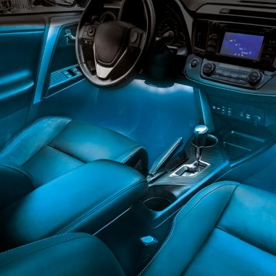 Éclairage d'ambiance à LED pour la voiture