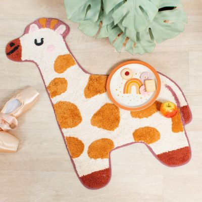 Mini tapis girafe