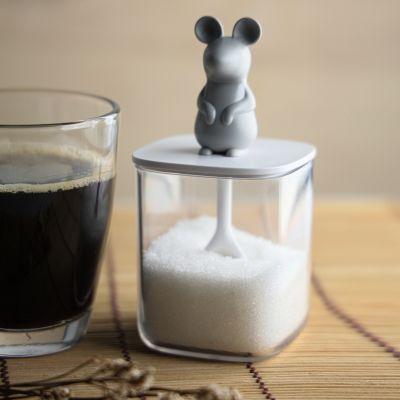 Récipient Souris pour sel ou sucre