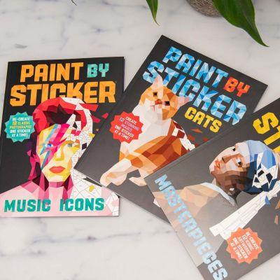 Livre Autocollant Paint By Sticker