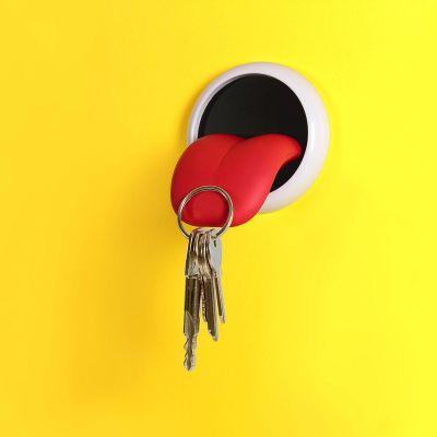 Porte-clés langue aimantée