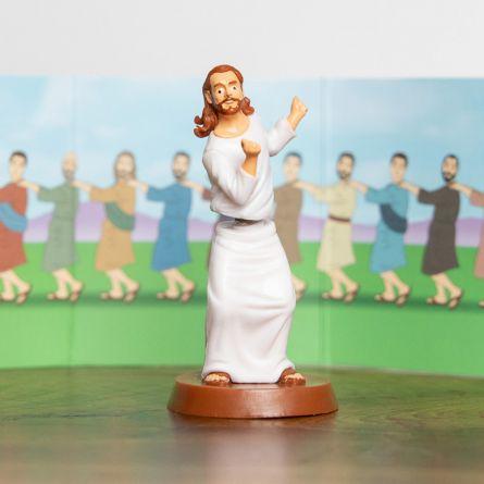 Figurine Dancing with Jesus