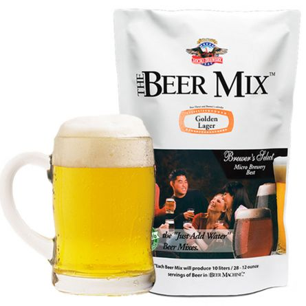 Ingrédients pour la machine à bière – Golden Lager, Viennoise et Red Lager canadienne