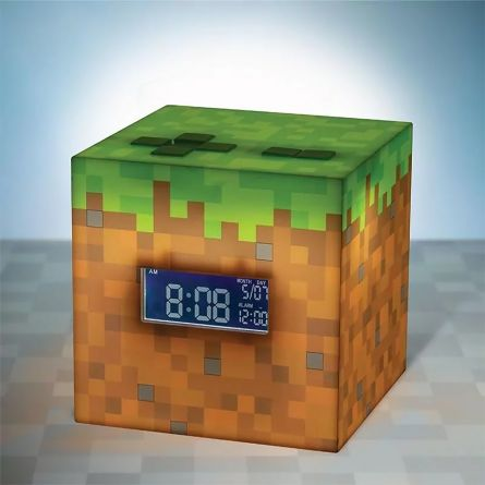 Réveil lumineux Minecraft