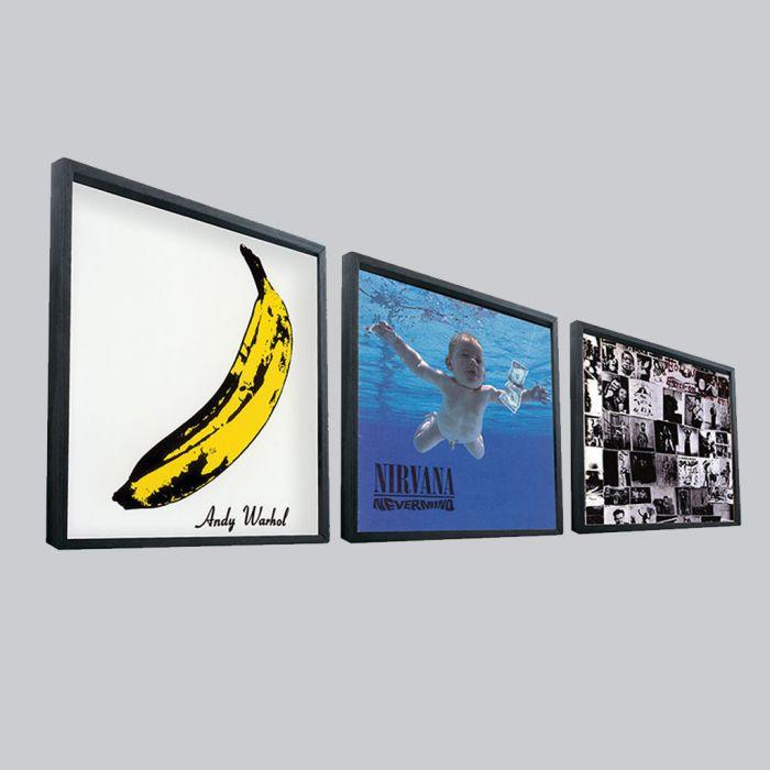 Cadre pour vinyles LP - 33 tours