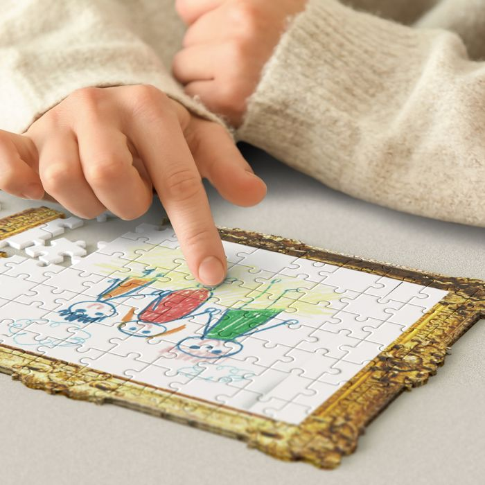 Puzzle Do It Yourself Dessin d'Enfant