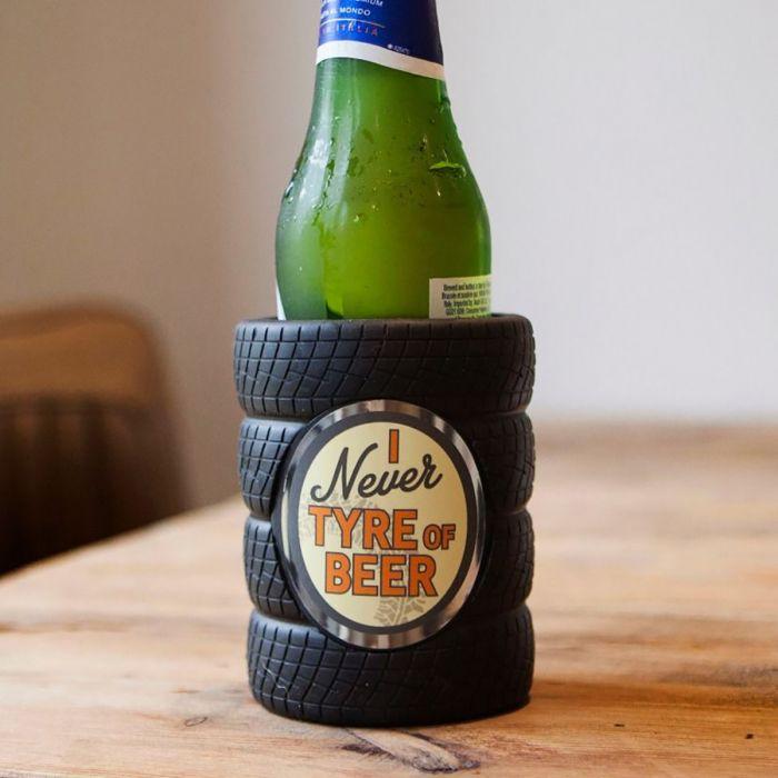 Rafraîchisseur de Bouteille de Bière Pneus Park & Chill