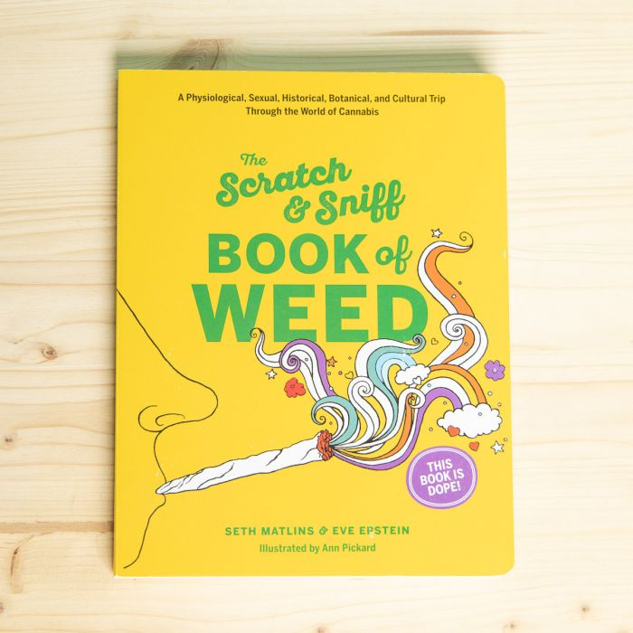 Livre Book of Weed