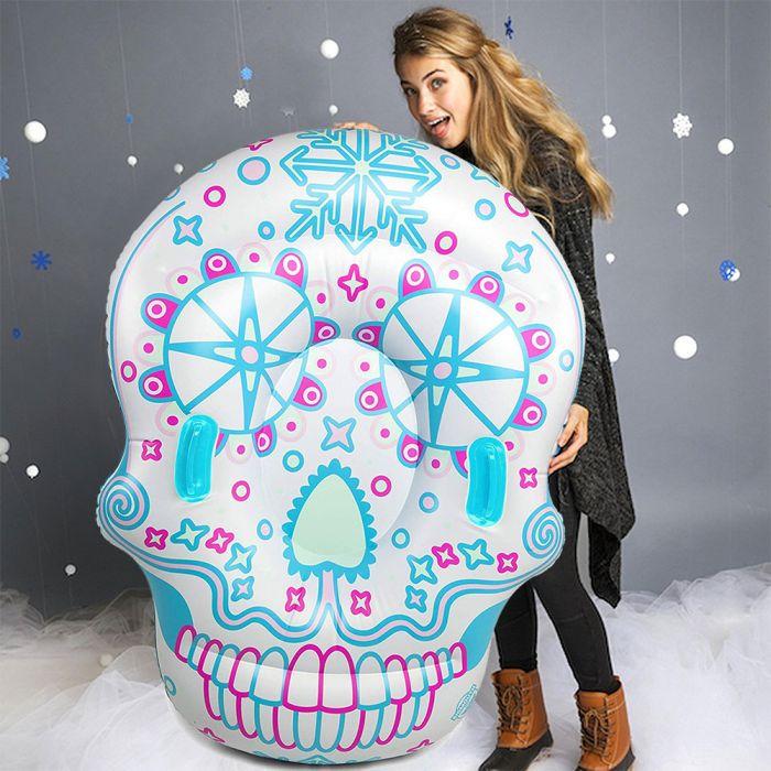 Luge Gonflable Sugar Skull