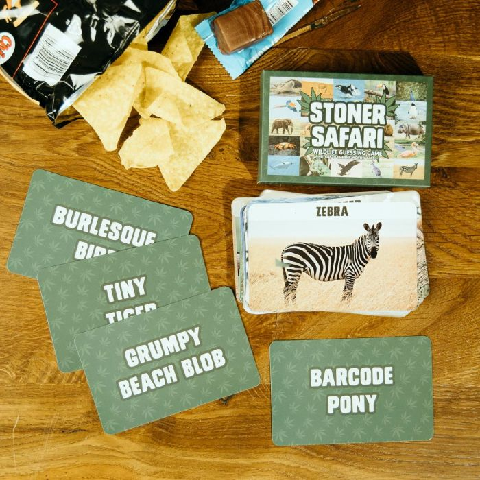 Jeu de cartes Stoner Safari