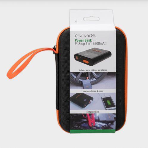 Batterie externe 3 en 1 avec fonction d'aide au démarrage et compresseur