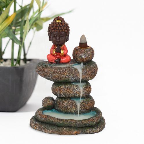 Bouddha et sa fontaine d'encens