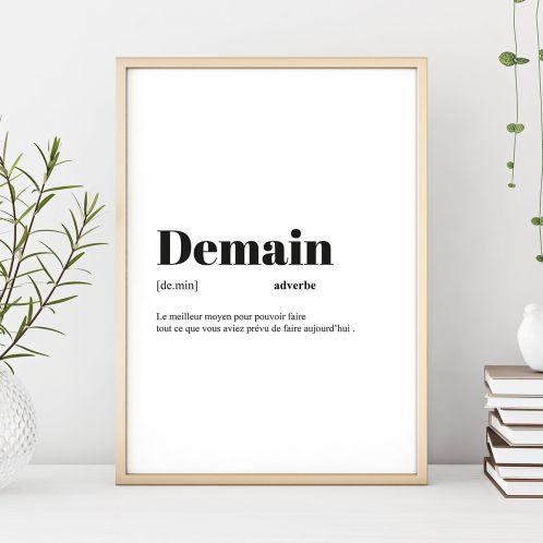 Poster Personnalisable Définition