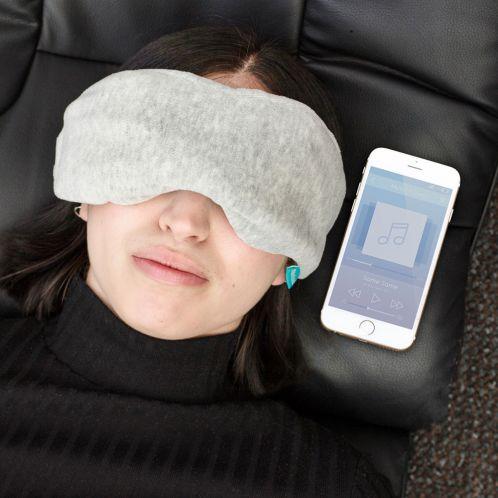 Masque de sommeil avec écouteurs Bluetooth