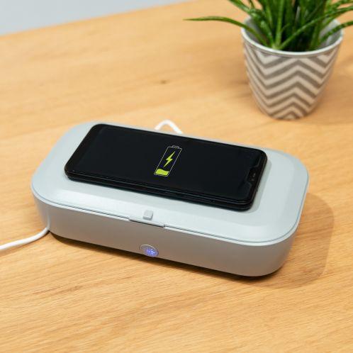 Chargeur sans fil et Désinfection par UV