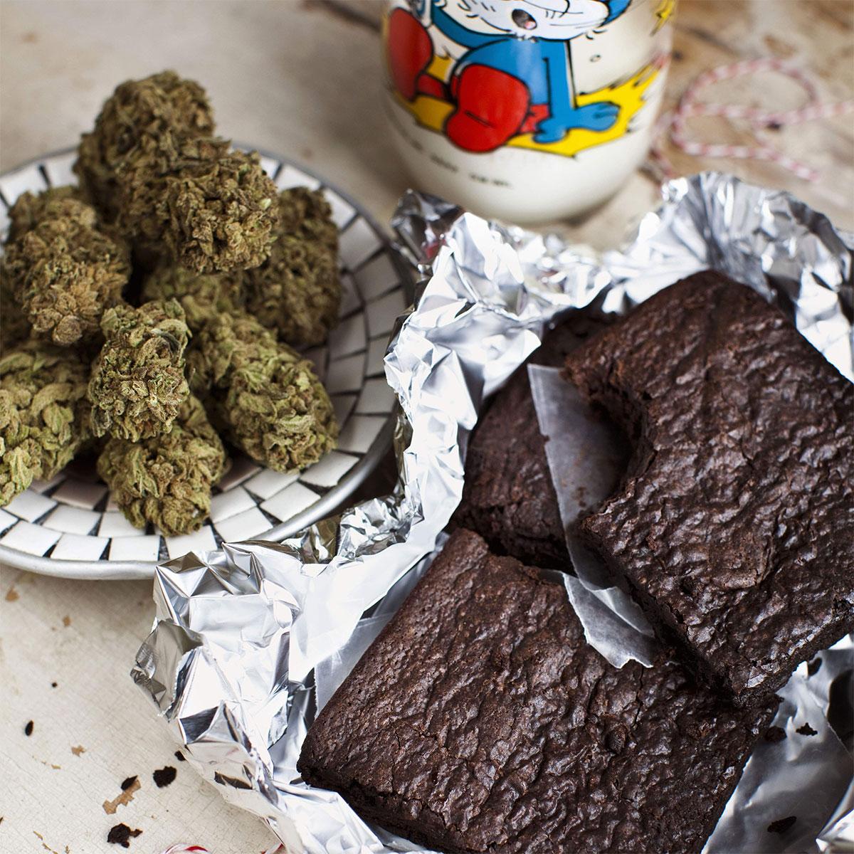High Times - Livre de cuisine pour le Cannabis