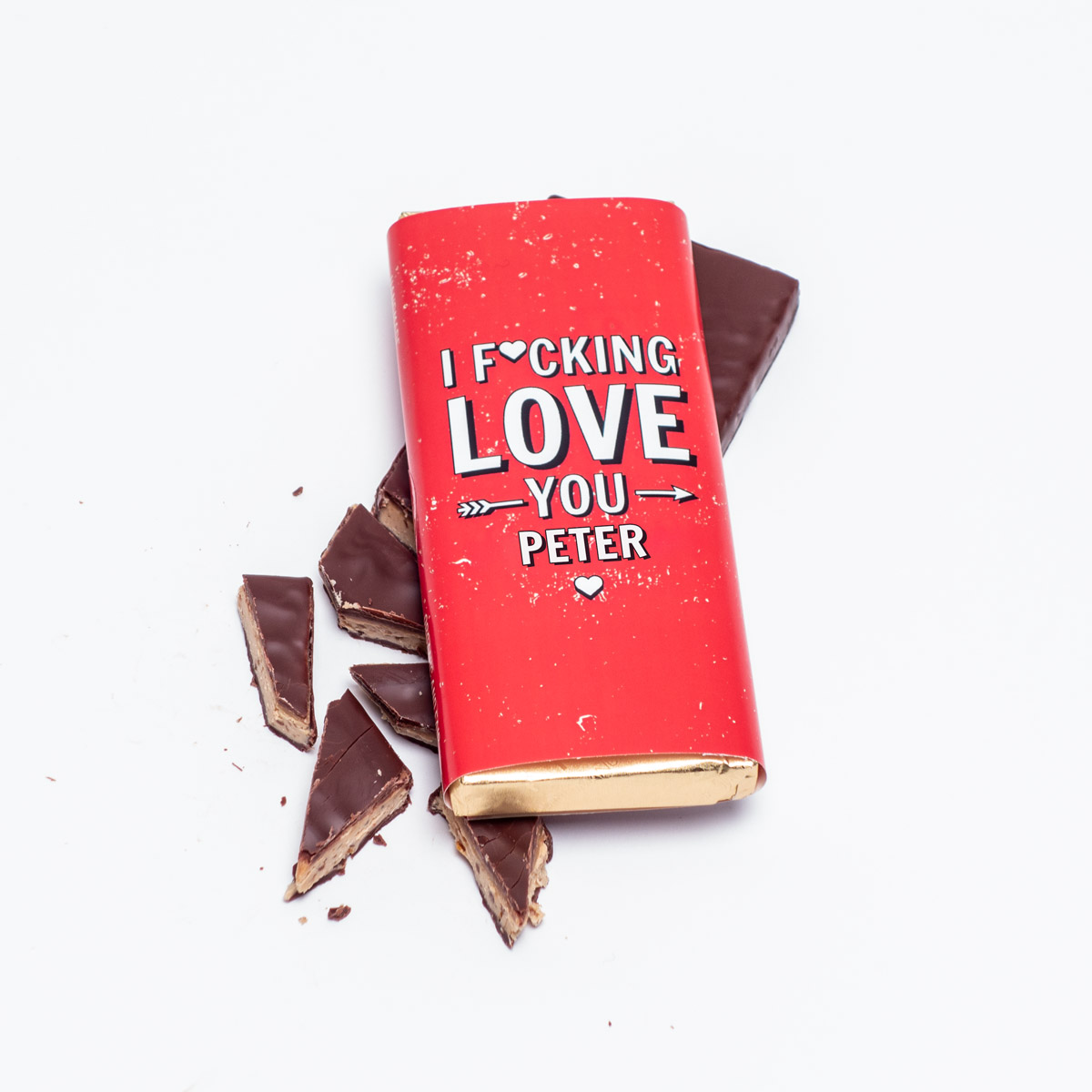 Chocolat Personnalisable I F[...]ing Love You