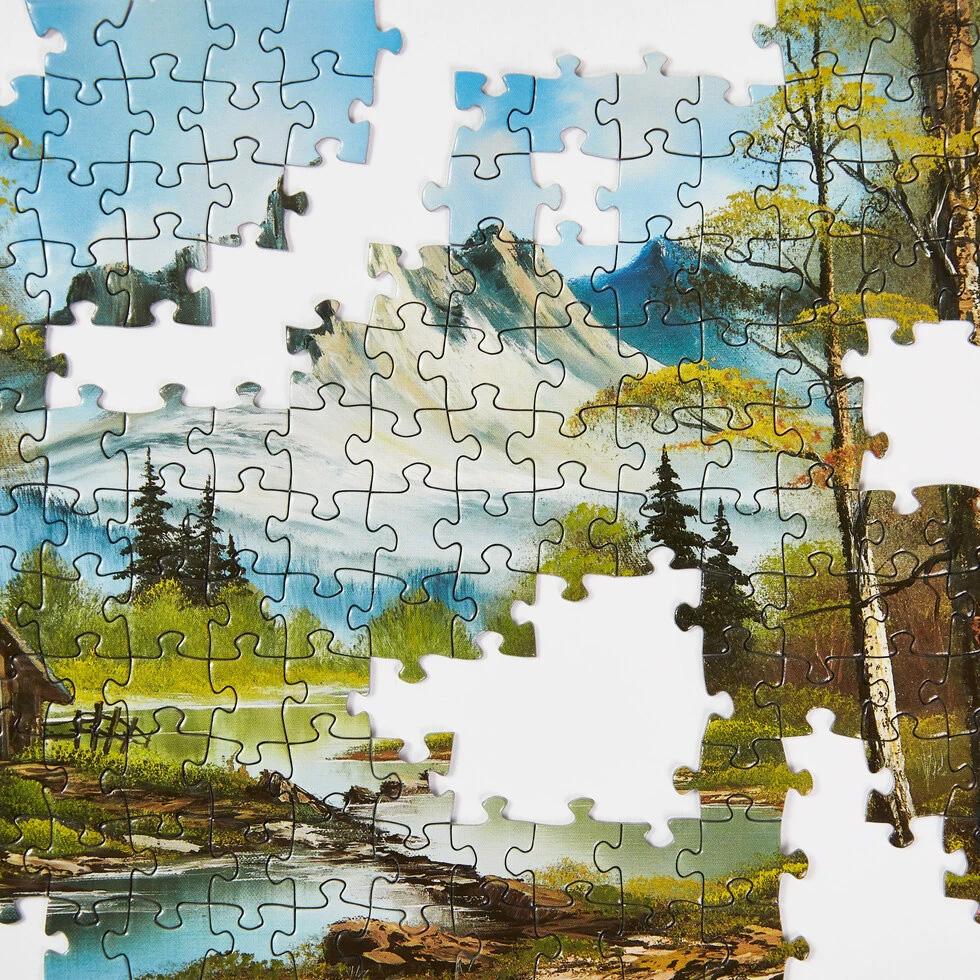Puzzle de Bob Ross