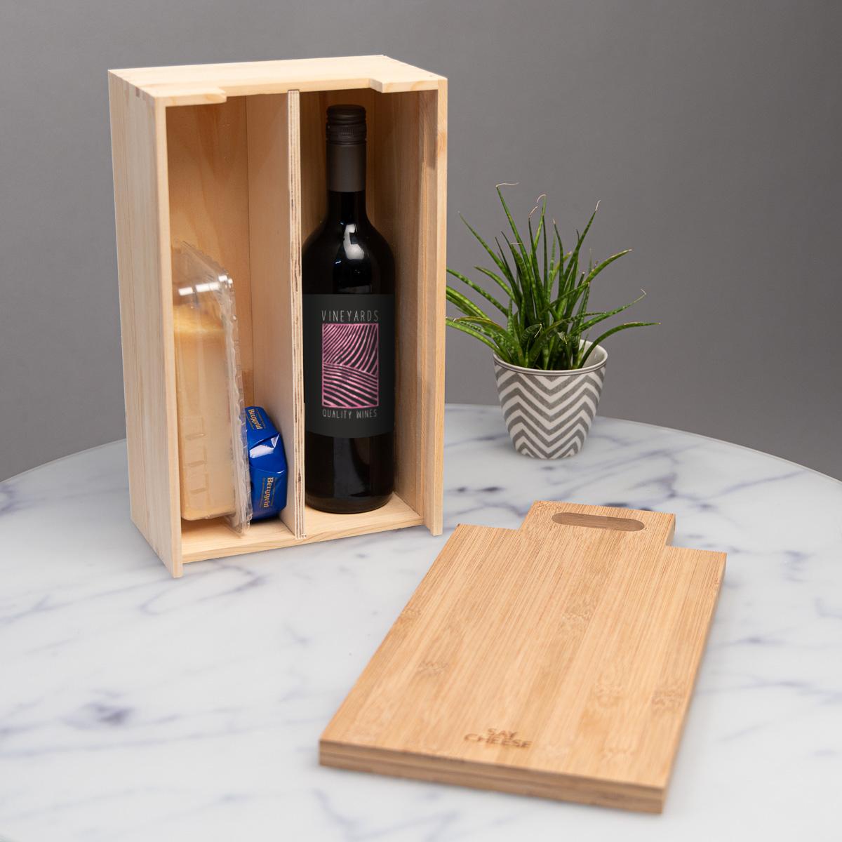 Coffret cadeau Vin & Fromage
