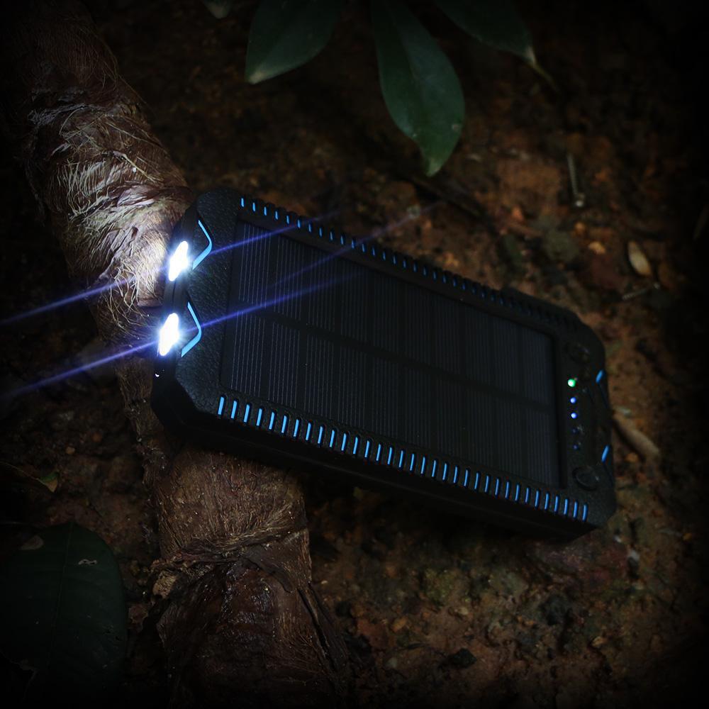 Batterie externe solaire Survival