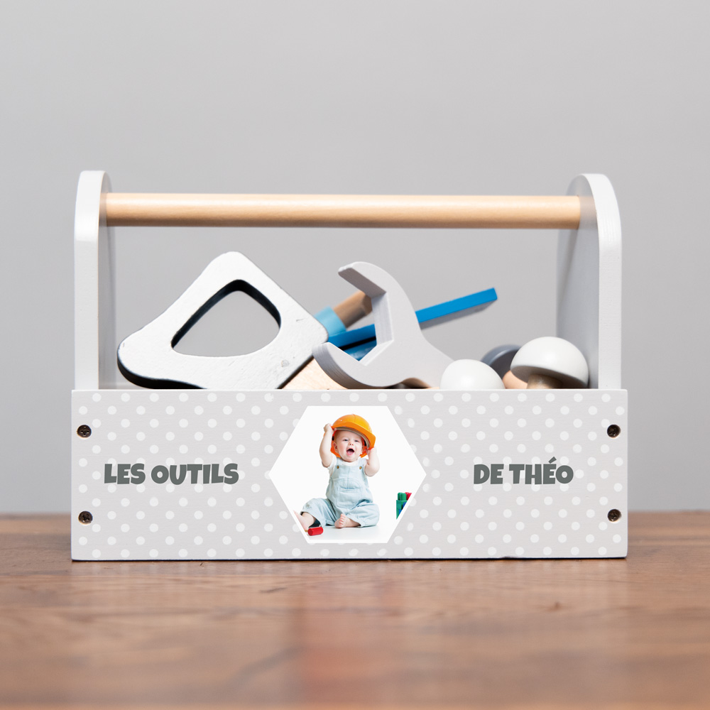 Boîte à Outils avec Photo et Texte