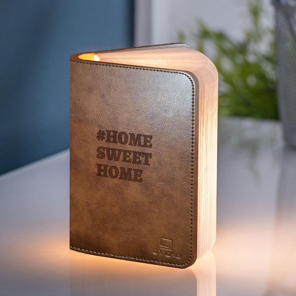 cadeau maman Lampe Livre Personnalisable avec Texte