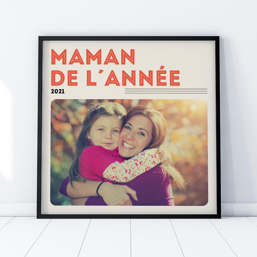 cadeau maman Poster Couverture Vinyle