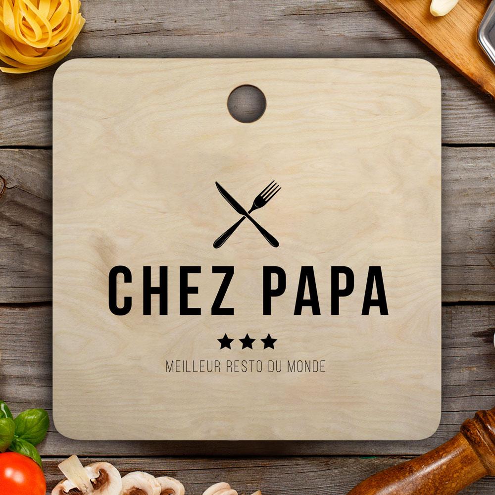 cadeau papa Planche à découper Restaurant