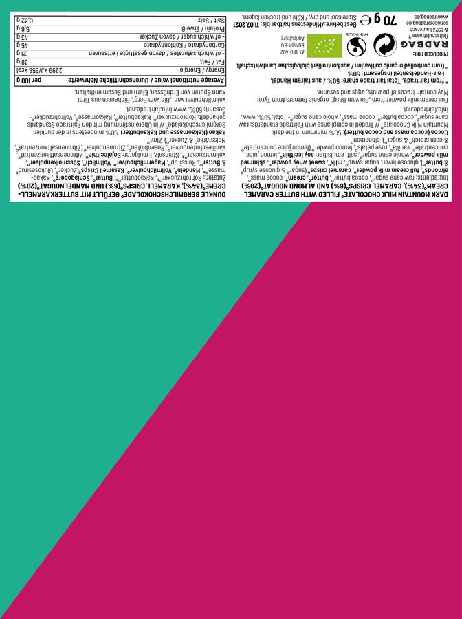 KADEXT - Grün-Pink