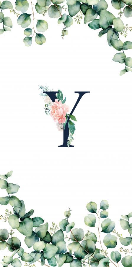 Handtuch mit Monogramm und Text (TOMOXT) - Y