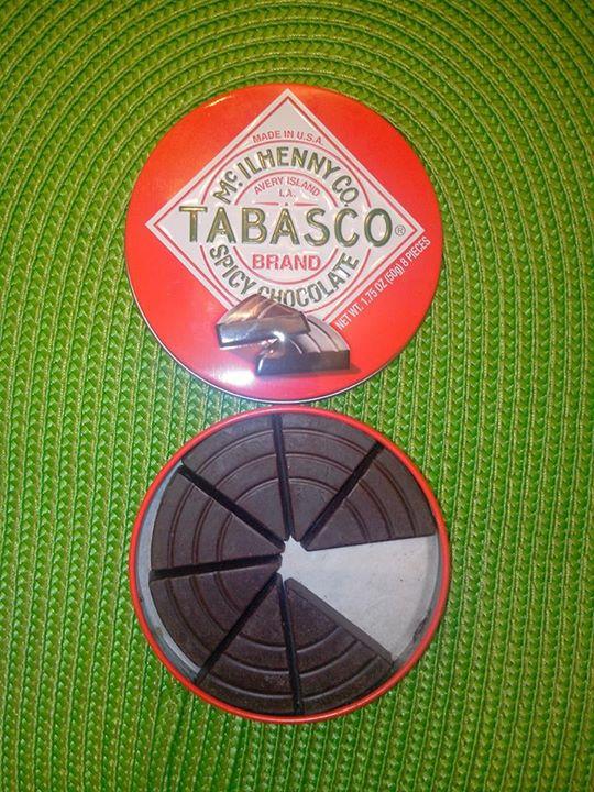 Chocolat tabasco spicy