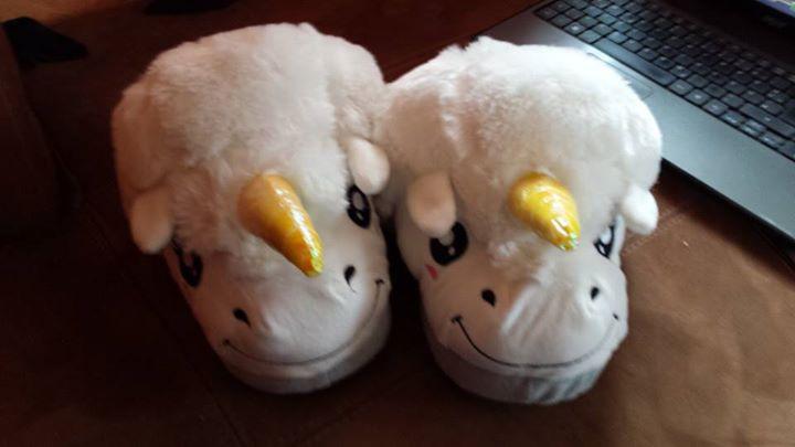Les Pantoufles Licorne