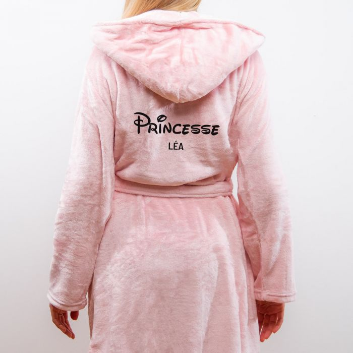 Peignoir princesse personnalisable