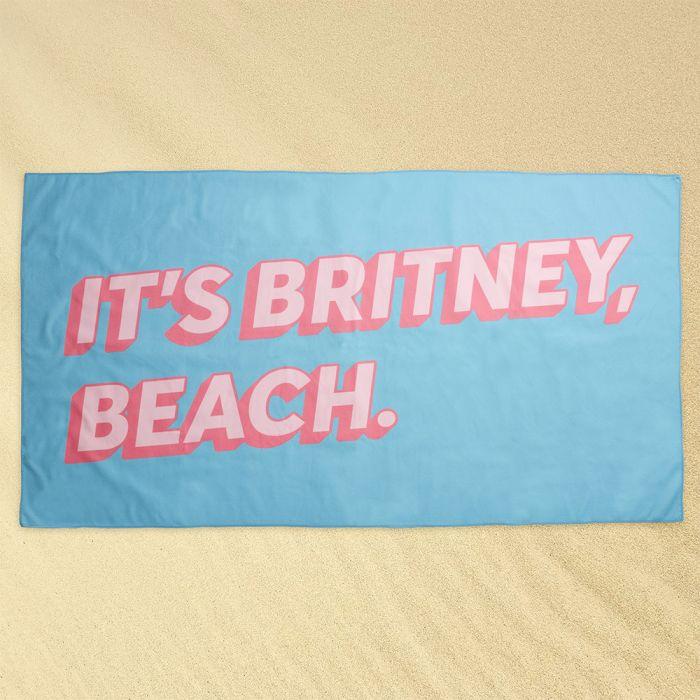 Serviette de Plage Britney Beach