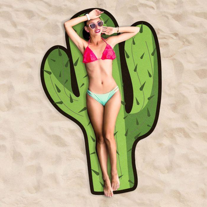 Serviette de plage Cactus