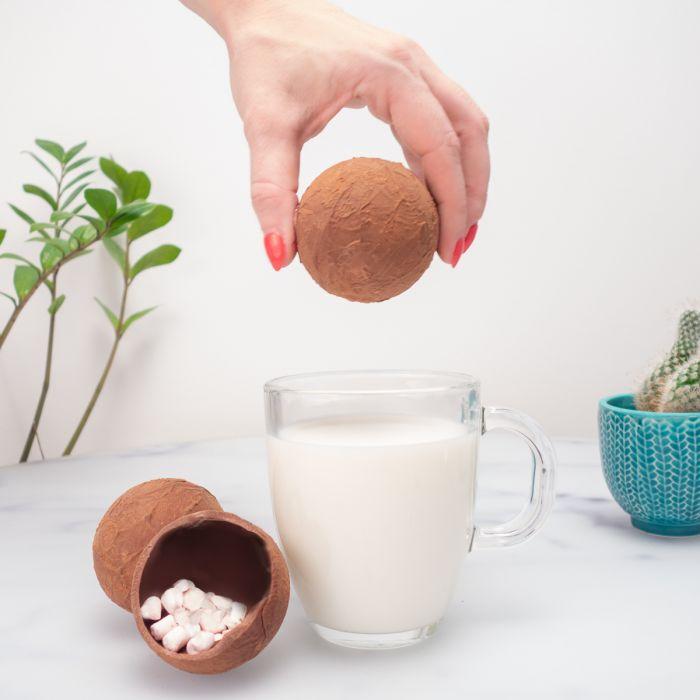 Bombes à chocolat chaud