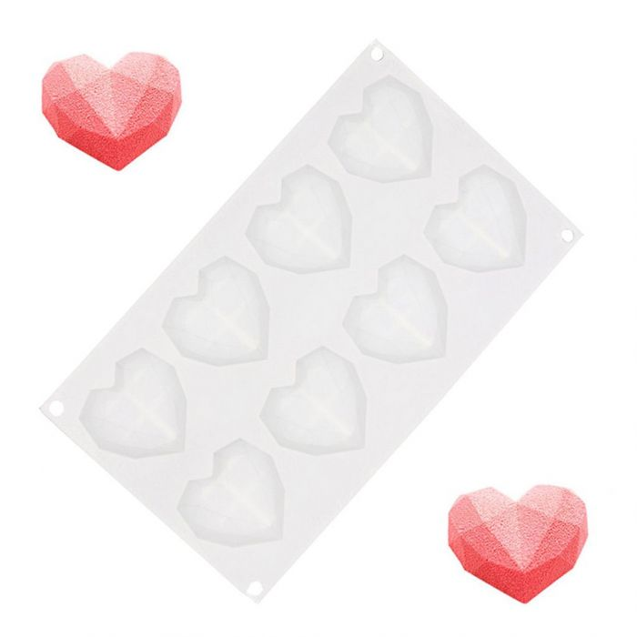 Moule en Silicone Mini Cœurs