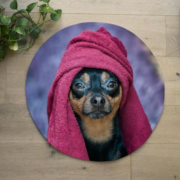 Tapis de Bain Photo Personnalisable