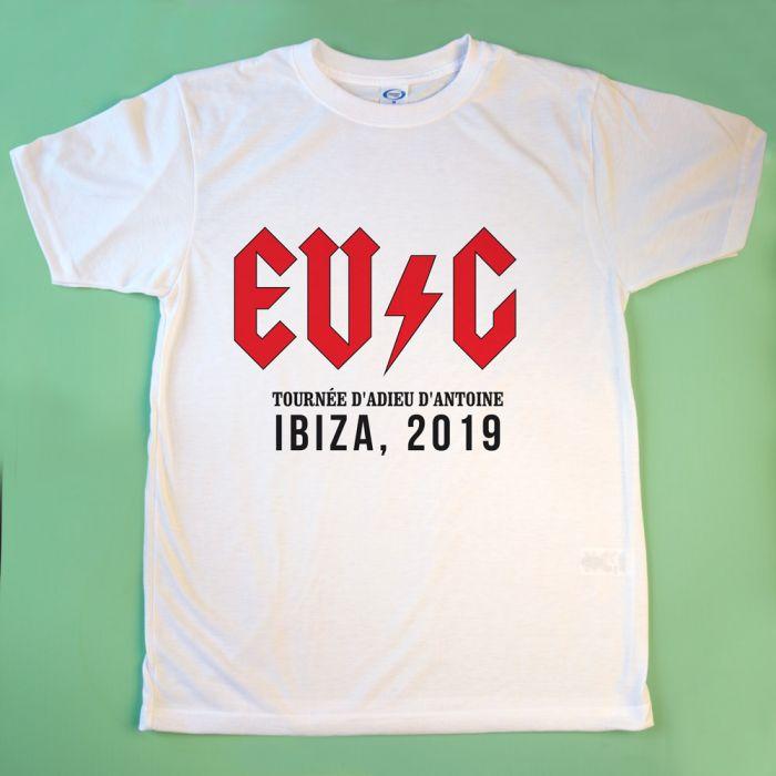 T-Shirt Personnalisable avec Texte