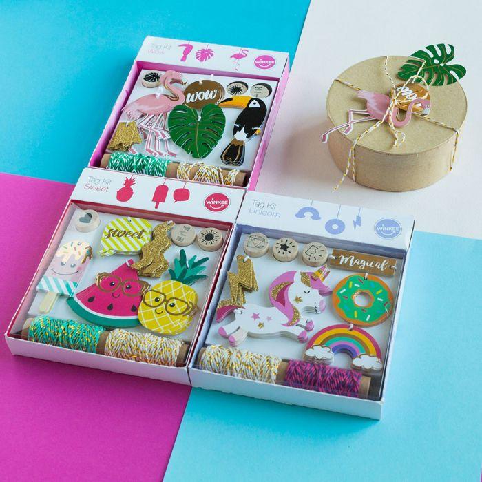 Kit Étiquettes cadeaux Tendances